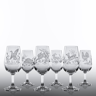 6 Verres INAO Taille Chasse