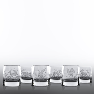 6 Verres Whisky Vérone Taille Chasse