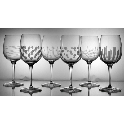 6 verres Palace Vin Rouge Taille Moderne