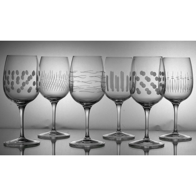 6 verres Palace Vin Blanc Taille Moderne