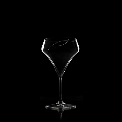 6 verres Oenologie Coktail Taille Spirale