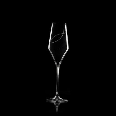 6 flûtes à Champagne Oenologie Taille Spirale