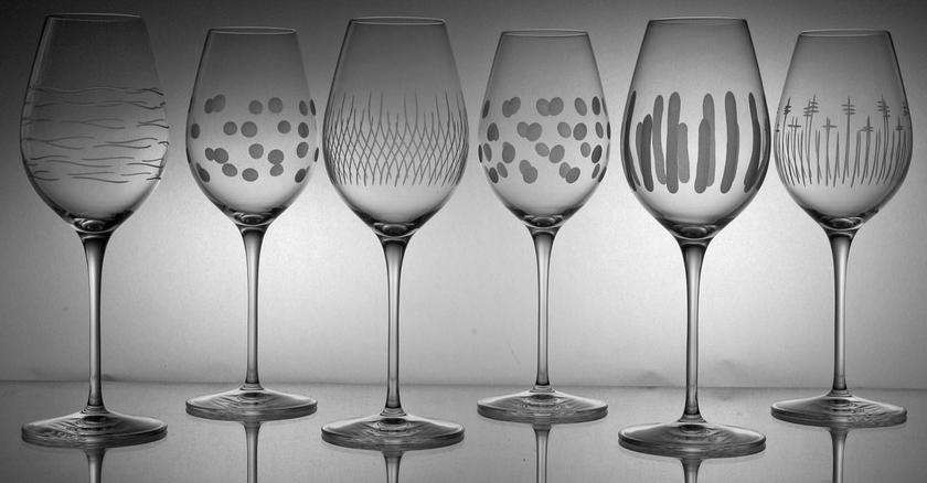 6 verres fresco taille moderne coffrets de verres collection maturo taille moderne cristal - Moderne fresco ...