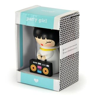 Lulu shop Poupée Japonaise Kokeshi Momiji party girl 3