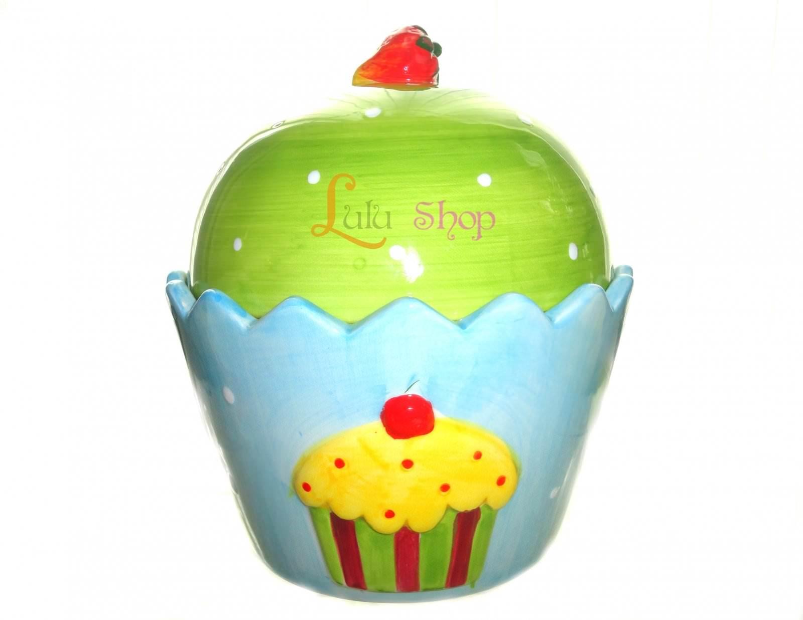 Lulu Shop Art de la table design boîte Bleu