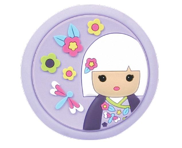 Lulu Shop Miroir de Poche rose Kimmi Junior Jasmine