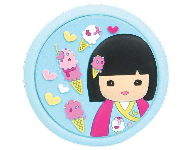 Lulu Shop Miroir de Poche rose Kimmi Junior Lotti