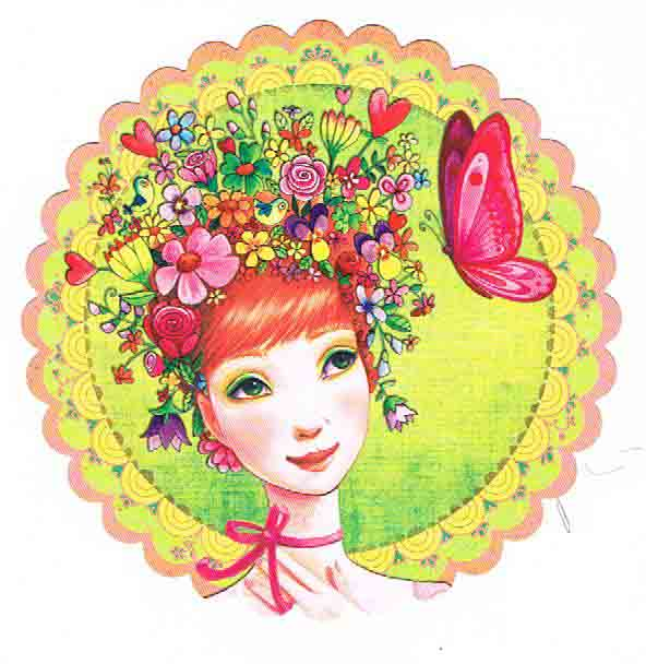 Lulu Shop Carte Mila Marquis Fée des Fleurs