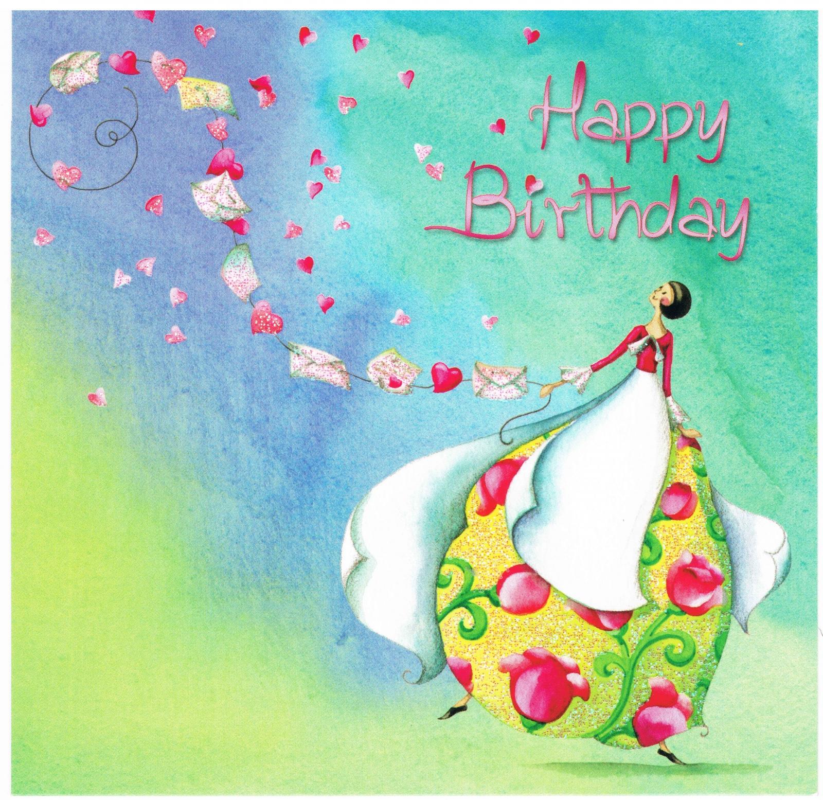 Joyeux Anniversaire Cartes Postales Cartes Postales Nina Shen