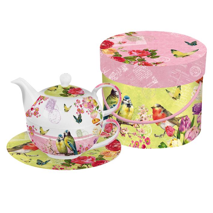 Solitaire Tea for One Vintage II Lulu Shop