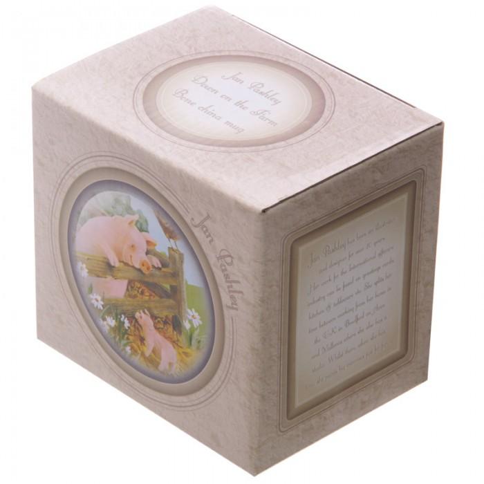 www.lulu-shop.fr Mug En Porcelaine Cochons Dans La ferme Par Jan Pashley - MUG139 - 6