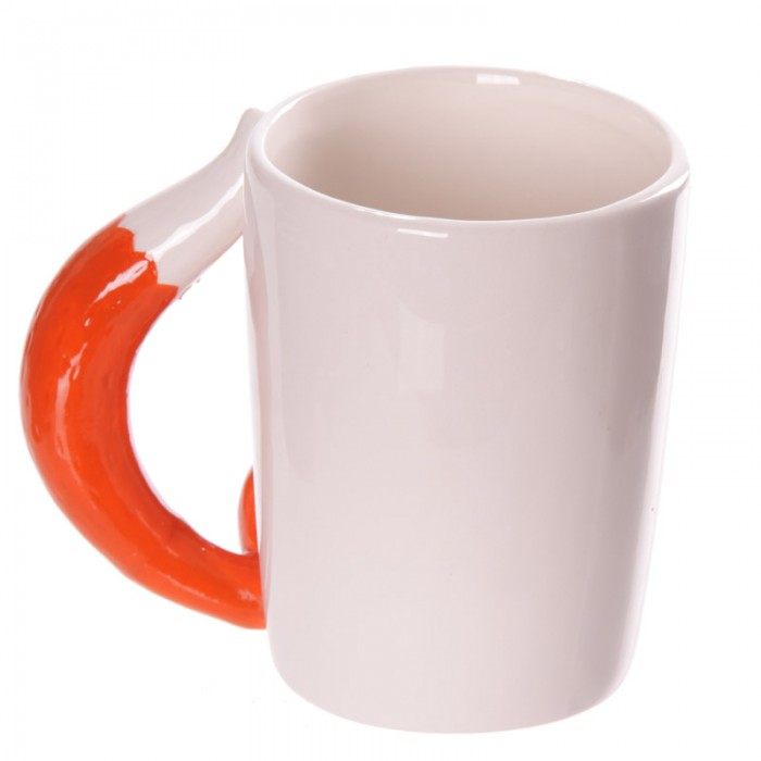 mug blanc avec une anse renard art de la table mug tasse lulu shop. Black Bedroom Furniture Sets. Home Design Ideas