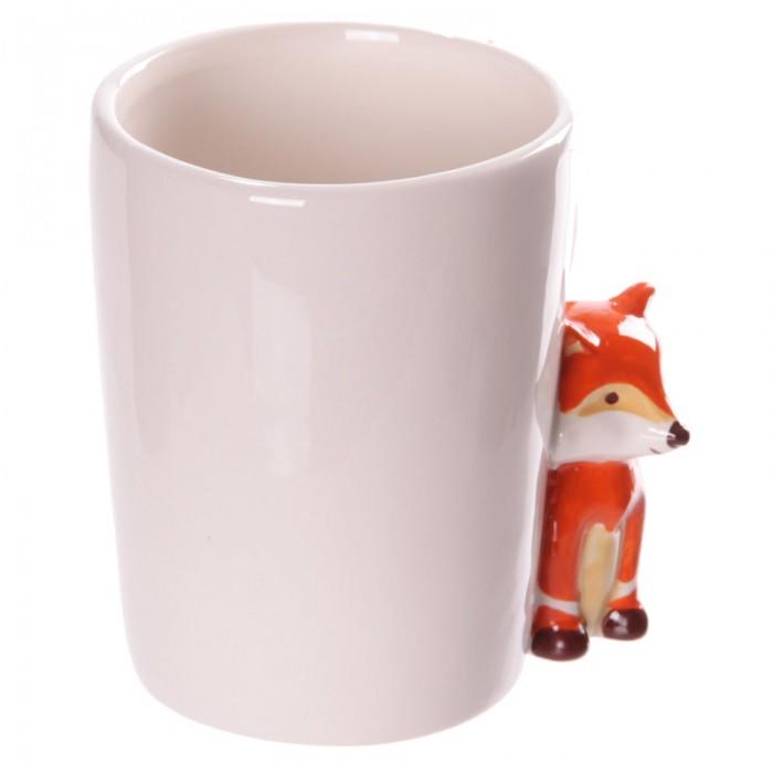 www.lulu-shop.fr Mug blanc en céramique - Anse Renard FOX05 - 5