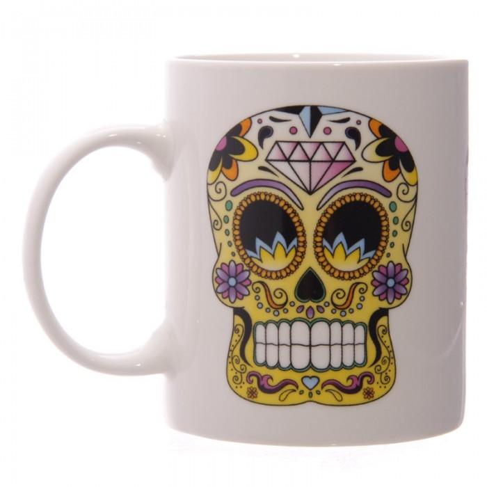 www.lulu-shop.fr Mug En Porcelaine Jour Des Morts Méxicains Par Lauren Billingham MUG126 - 3