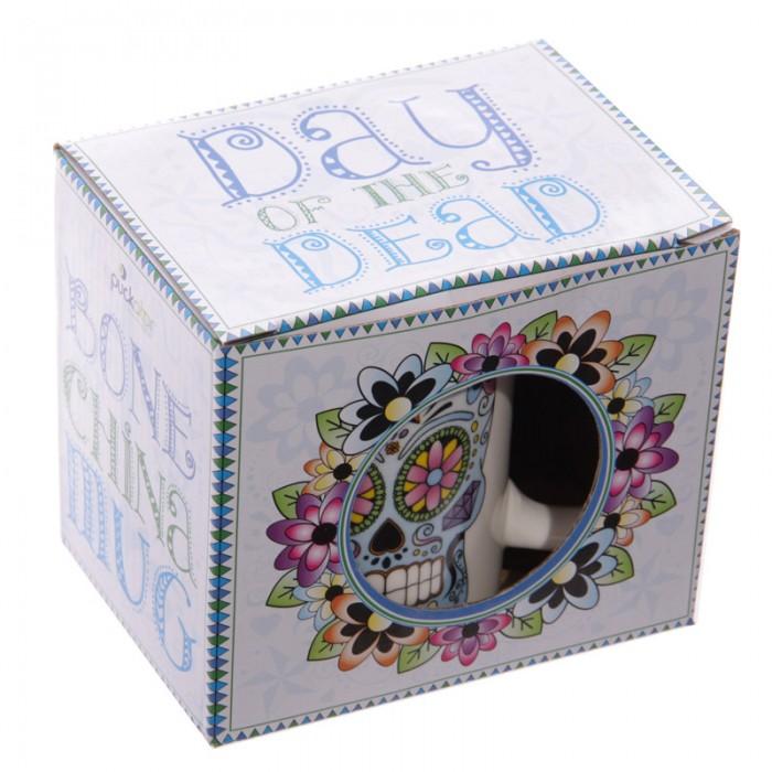 www.lulu-shop.fr Mug En Porcelaine Jour Des Morts Méxicains Par Lauren Billingham MUG126 - 6