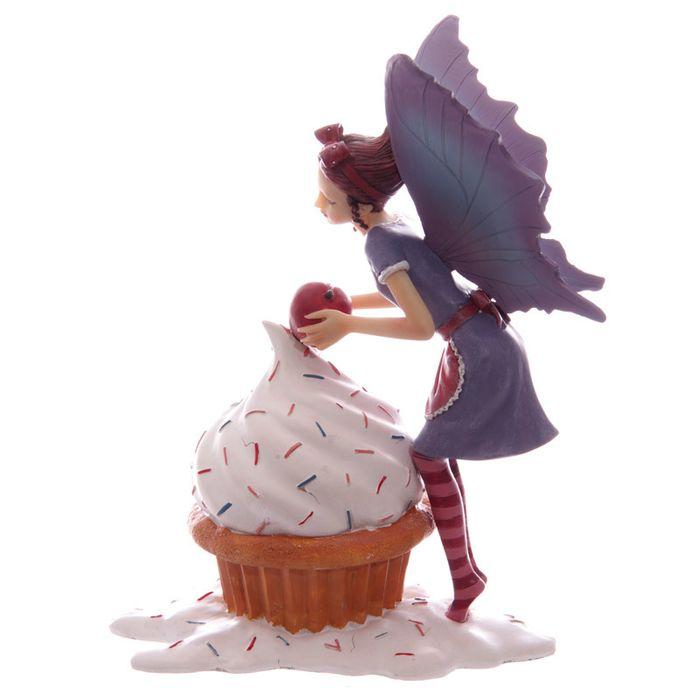 Figurine de Fée avec un cupcake lulu shop 2