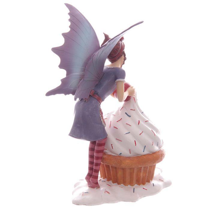 Figurine de Fée avec un cupcake lulu shop 3
