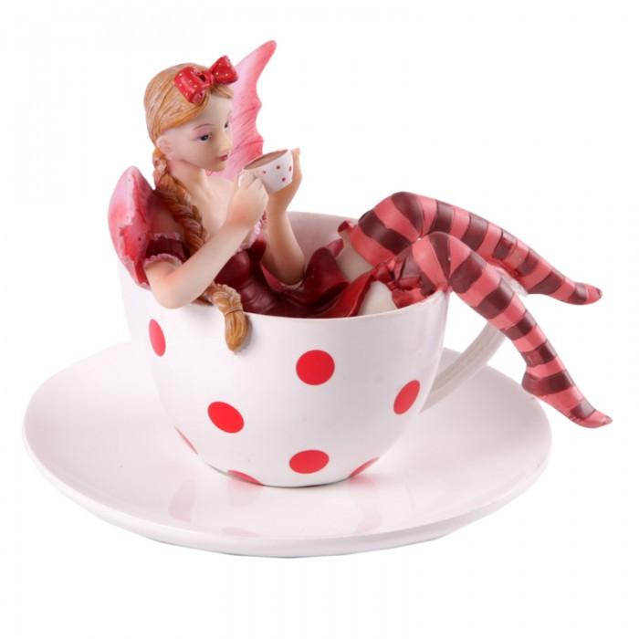 Fée avec tasse de thé par Natasha Faulkner Lulu Shop 2