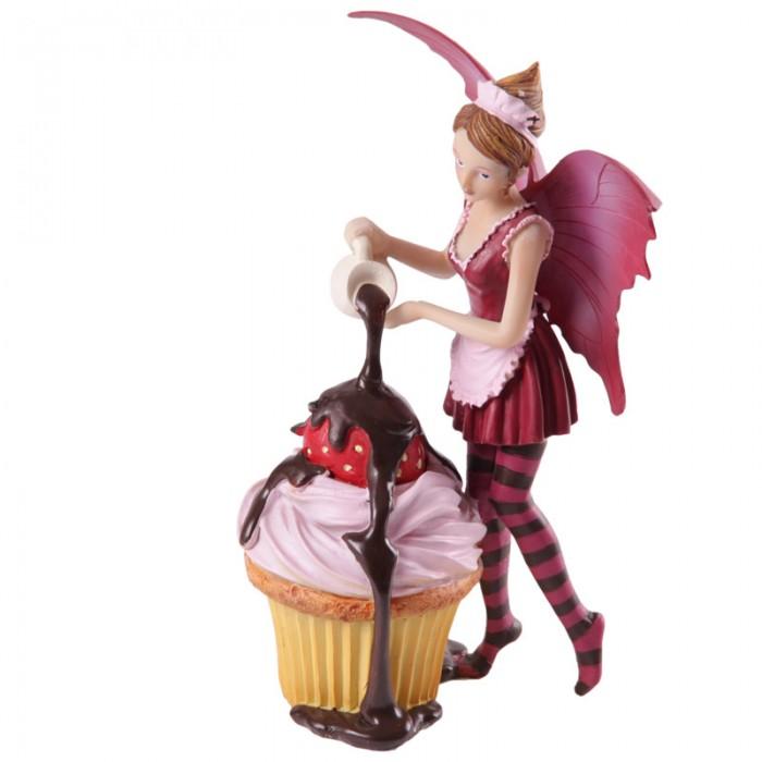 Fée rose avec cupcake par Natasha Faulkner Lulu Shop 2