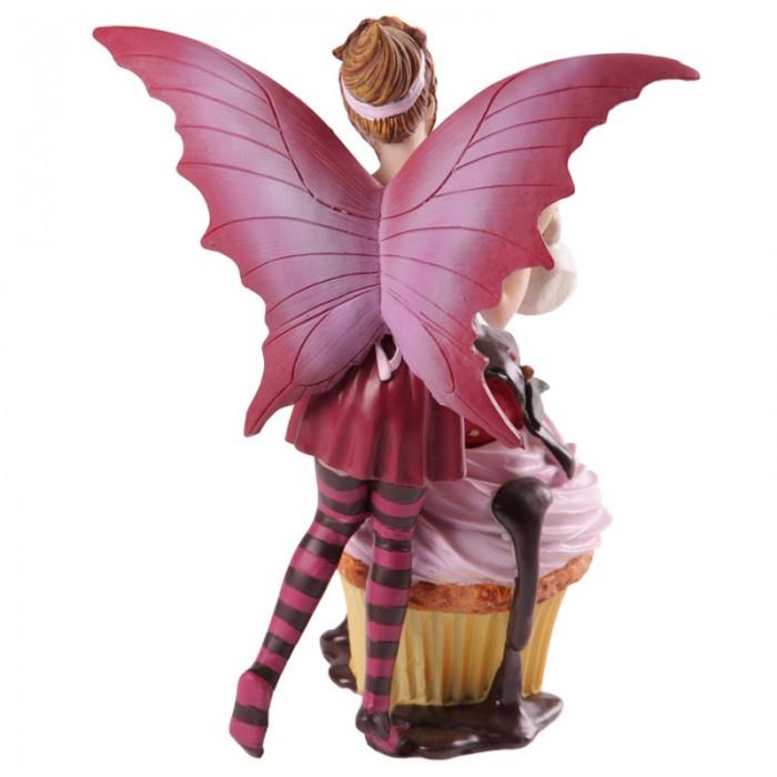 Fée rose avec cupcake par Natasha Faulkner Lulu Shop 3