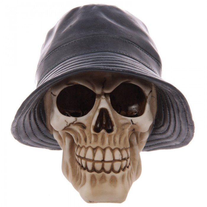 Crâne portant un chapeau Lulu Shop 1
