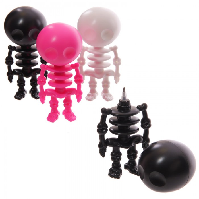 Stylos fantaisie Squelettes Lulu Shop