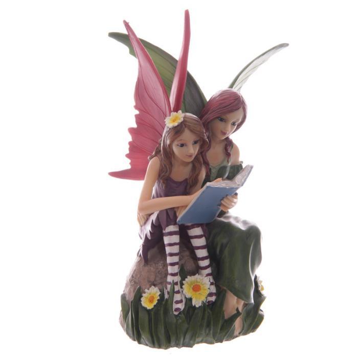Fée et son enfant qui bouquinent par Natasha Faulkner Lulu Shop