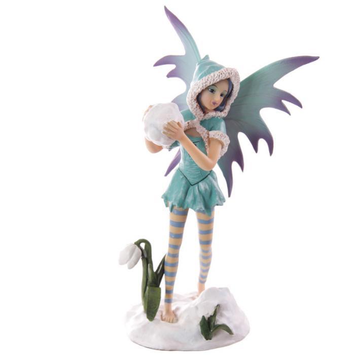 Fée turquoise avec boule de neige - Collection Mystic Realms Lulu Shop 1