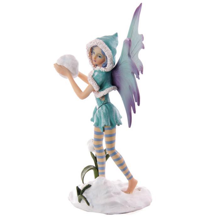 Fée turquoise avec boule de neige - Collection Mystic Realms Lulu Shop 2