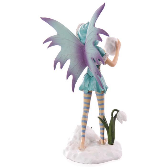Fée turquoise avec boule de neige - Collection Mystic Realms Lulu Shop 3