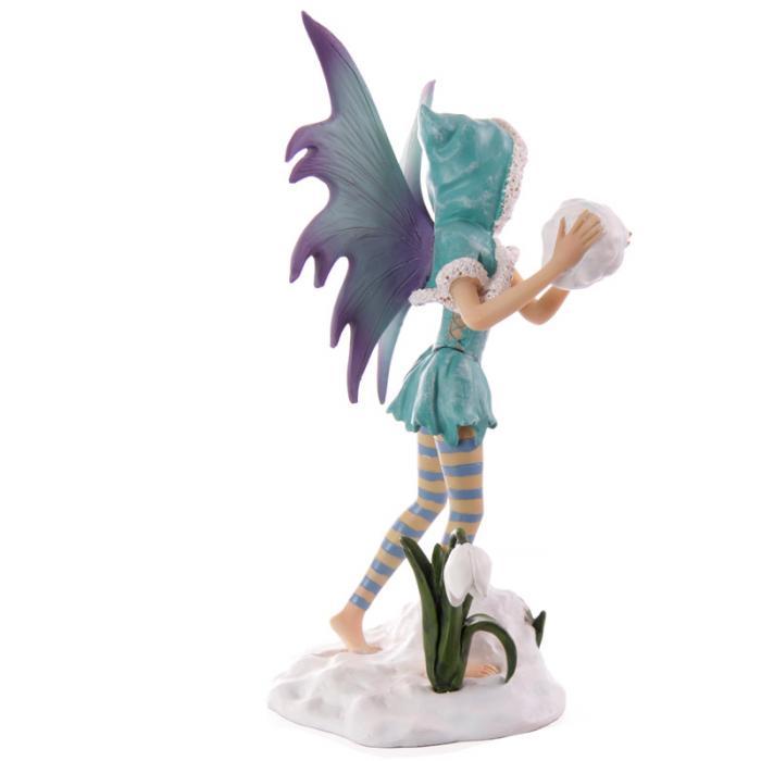 Fée turquoise avec boule de neige - Collection Mystic Realms Lulu Shop 4