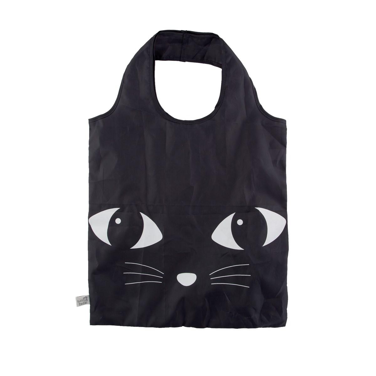 www.lulu-shop.fr sac tote bag chat noir