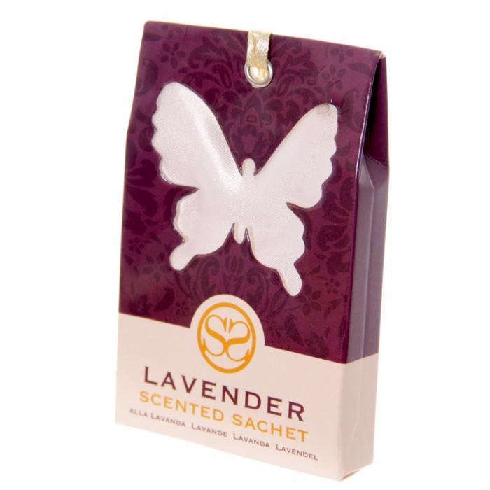 Sachets parfumés à la lavande - Motif Papillon lulu shop 1