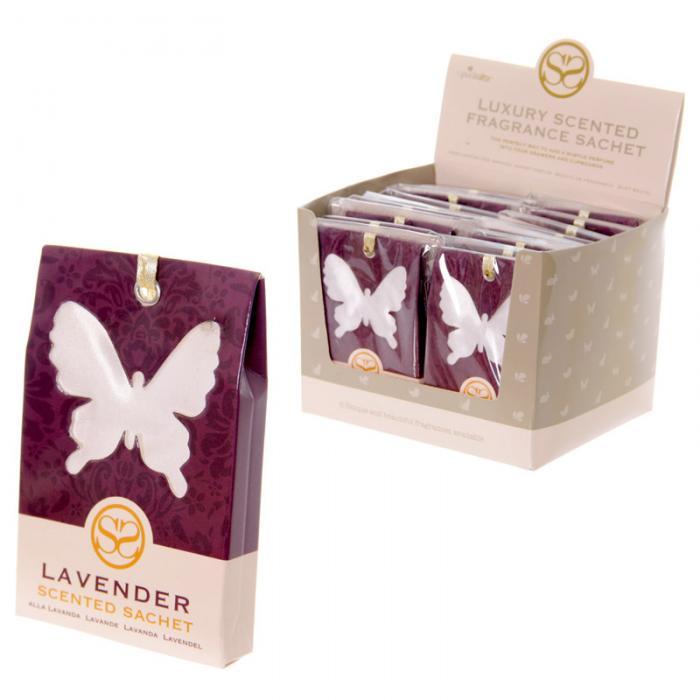 Sachets parfumés à la lavande - Motif Papillon lulu shop 3