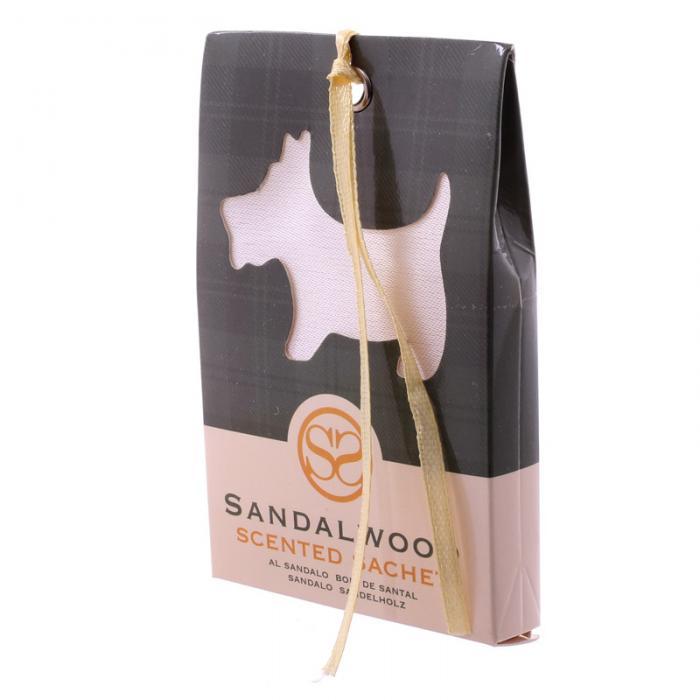 Sachets parfumés au bois de santal - Motif Chien écossais lulu shop 1