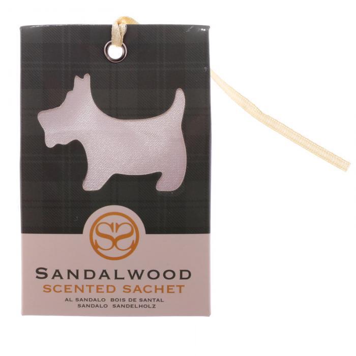 Sachets parfumés au bois de santal - Motif Chien écossais lulu shop 2