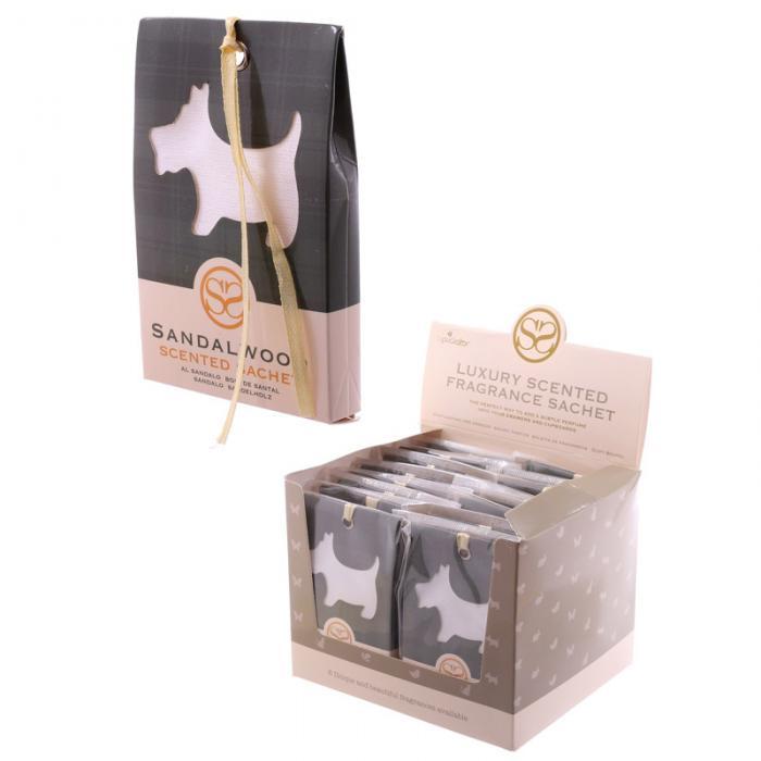 Sachets parfumés au bois de santal - Motif Chien écossais lulu shop 3