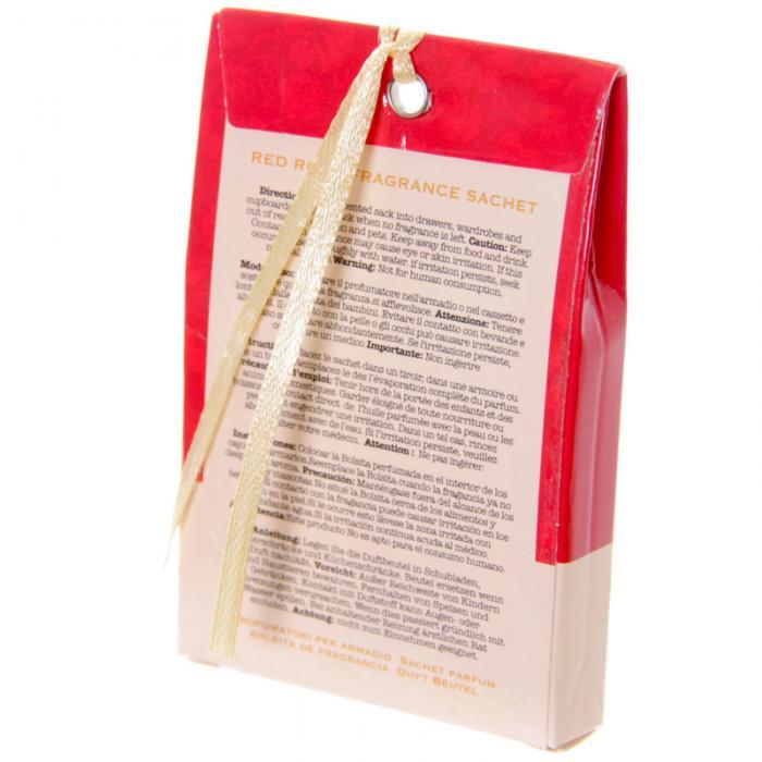 Sachets parfumés à la rose rouge - Motif oiseau lulu shop 2