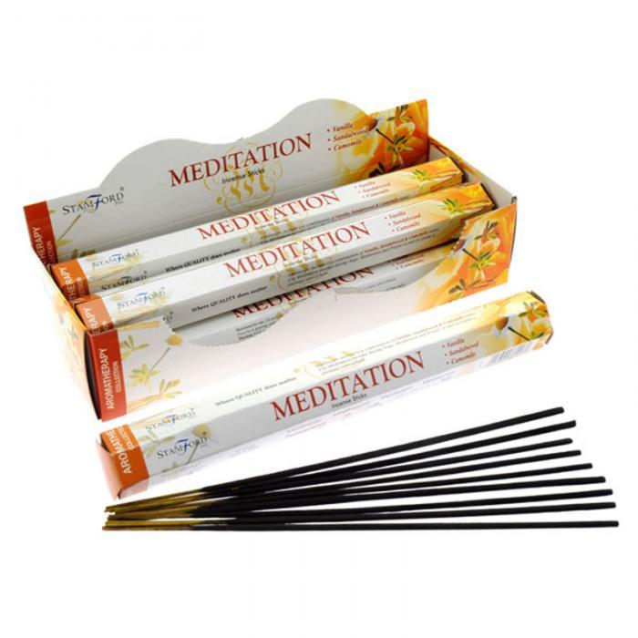 Encens Stamford Hex Aromatherapy - Méditation Lulu Shop
