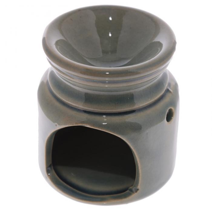 Petit brûleur à huile en céramique en forme de bocal motif Love Lulu Shop 6