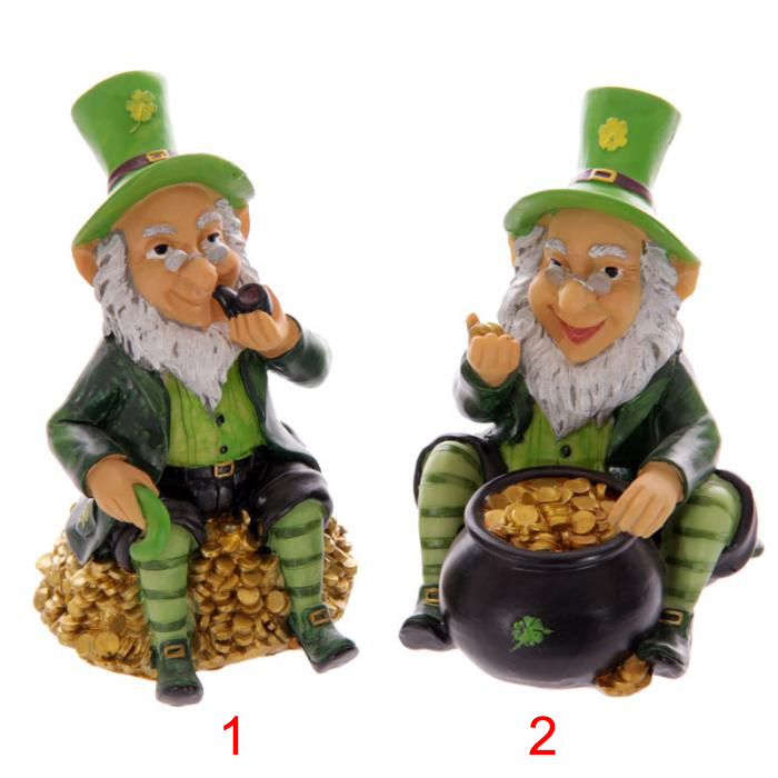 Tirelire Lutin Irlandais Leprechaun Lulu Shop 1