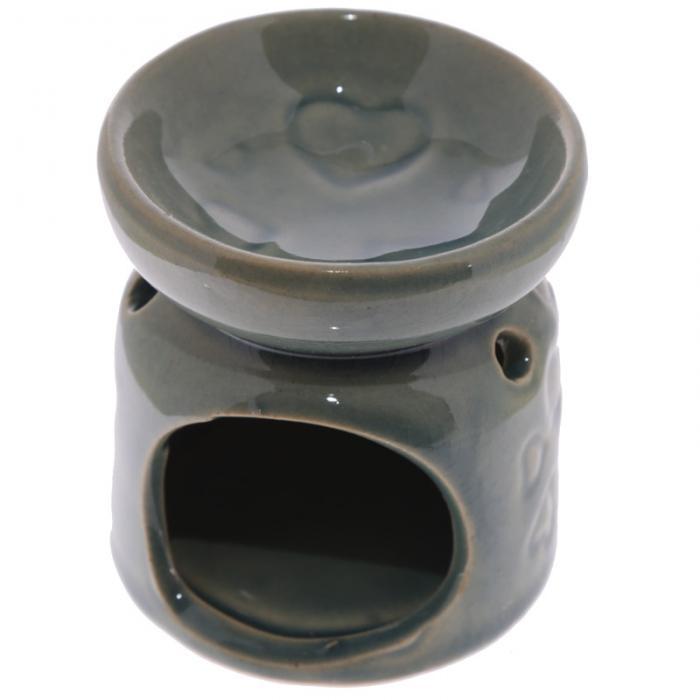 Petit brûleur à huile en céramique avec motifs coeurs Lulu Shop 6