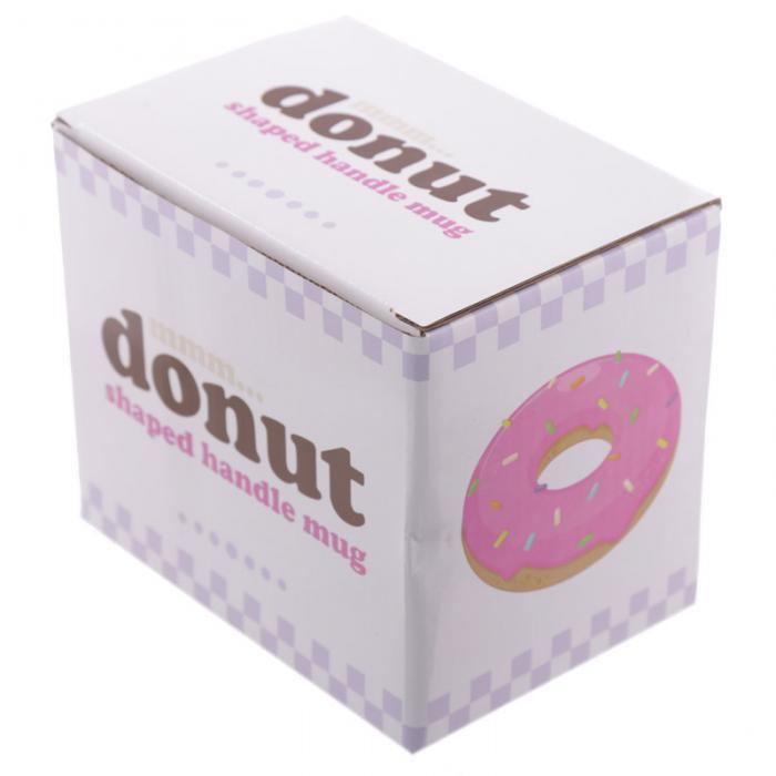 Mug Donut Rose à Anse Décorée Lulu Shop 6