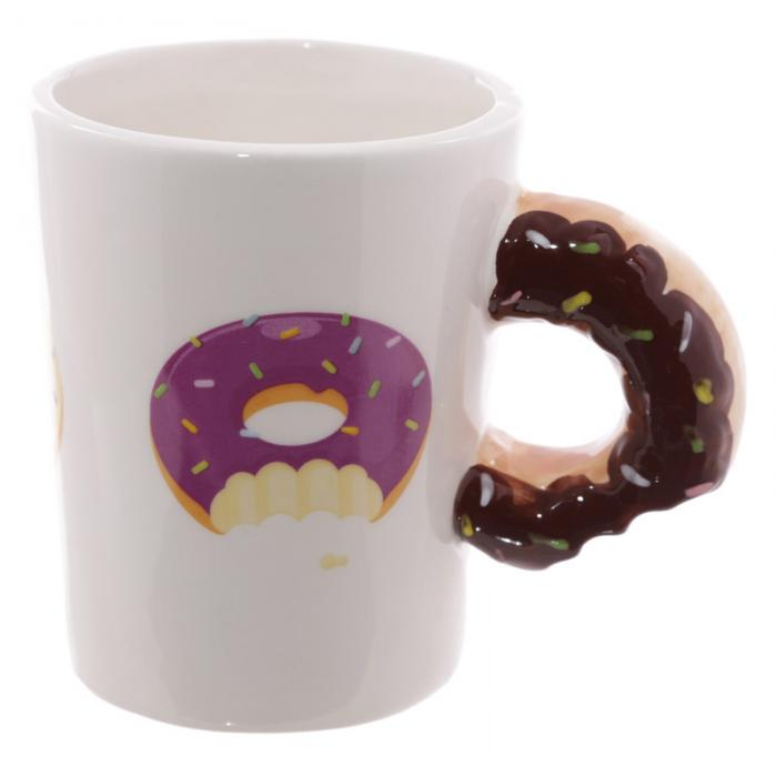 Mug Donut Chocolat à Anse Décorée Lulu Shop 2