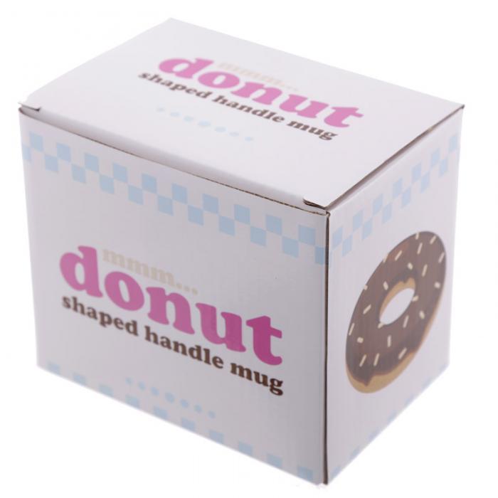 Mug Donut Chocolat à Anse Décorée Lulu Shop 5