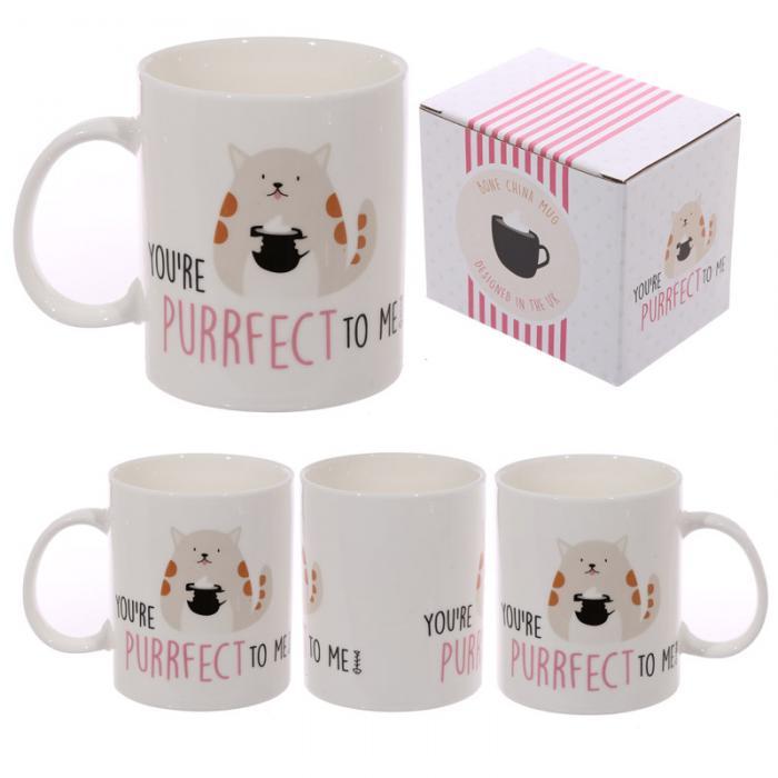 Mug en porcelaine - YOURE PURRFECT TO ME Lulu Shop