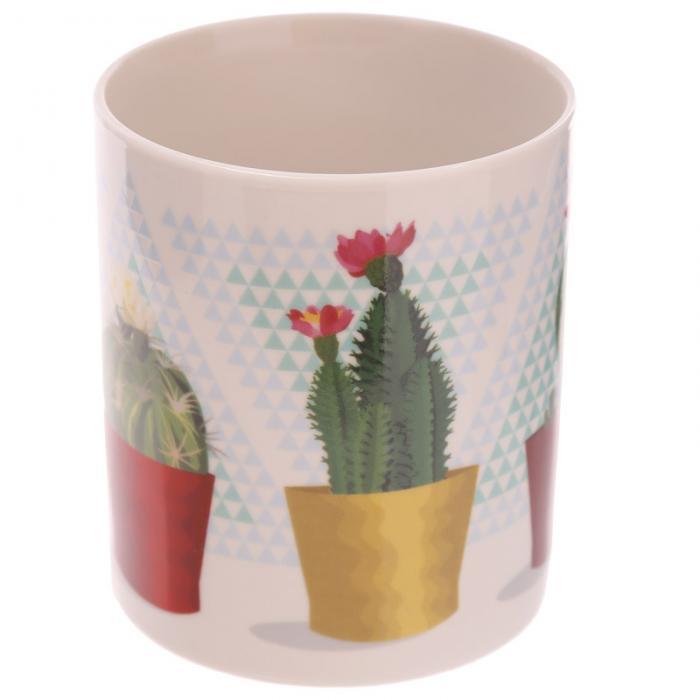 Mug porcelaine Cactus en pot Lulu Shop 3