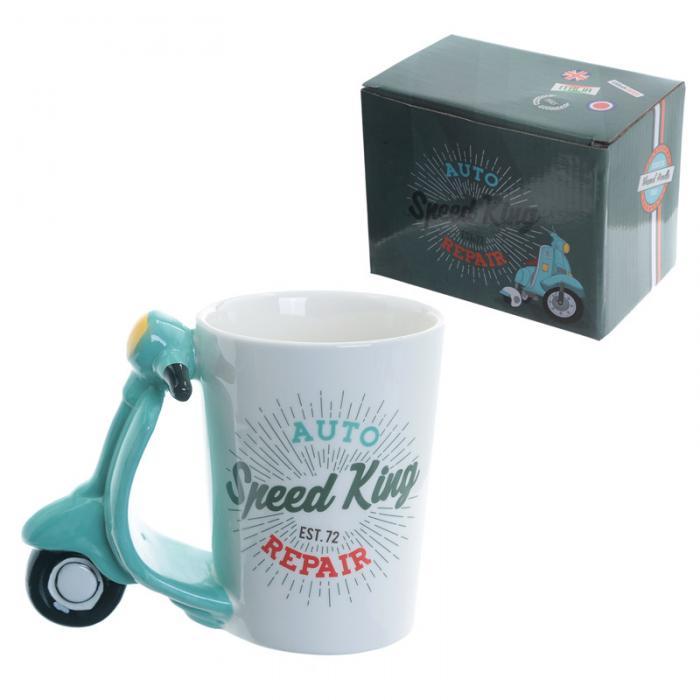 Mug à Anse Décorée Scooter Lulu Shop 1