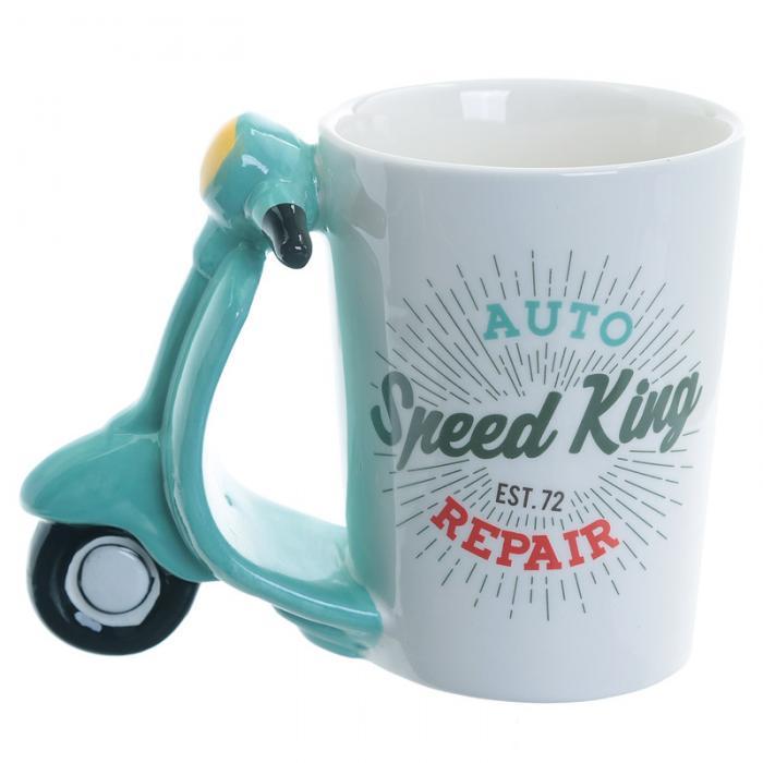 Mug à Anse Décorée Scooter Lulu Shop 2