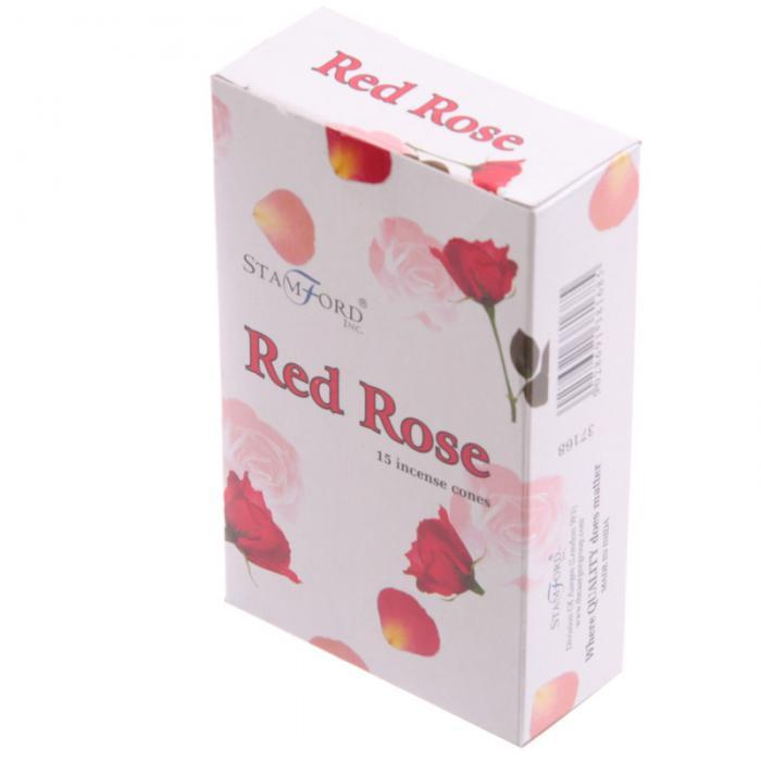 Cônes DEncens Stamford - Rose Rouge Lulu Shop 3